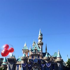 Disneyland 60th Anniversary  #Disneyland #SleepingBeautysCastle