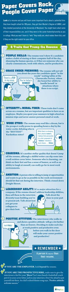 Important Traits A Resume Can't Show