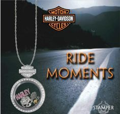 Harley-Davidson Charm Locket Necklace