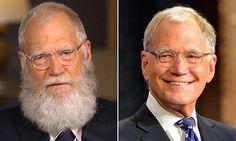 David Letterman shows he STILL hasn't trimmed his beard