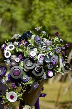 Button Bouquet.
