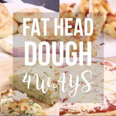 Keto Discover Low-Carb Mozzarella Dough - 4 ways Incredible mozzarella dough - 4 ways. >>> Bagels - Garlic bread - Pizza - Pizza scrolls >>> An easy gluten free keto low-carb recipe. Ketogenic Recipes, Low Carb Recipes, Diet Recipes, Cooking Recipes, Healthy Recipes, Fat Head Recipes, Ketogenic Diet, Gluten Free Recipes Videos, Chard Recipes