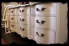 charming advances  Soft White French Provincial by RomanticJunque8, $685.00