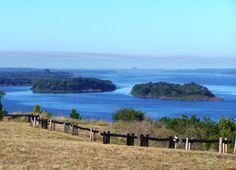 Paysandu y su rio- Uruguay