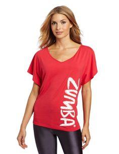 Amazon.com: Zumba Fitness LLC Womens Flaunt It Fancy Top: Clothing