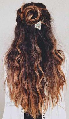 50+ Melhores Penteados Para Cabelos Longos #cabelos #CabelosLongos #longapenteado #longos #Melhores #para #penteados