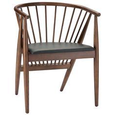 Nuevo Danson Sleigh Back Chair #zincdoor