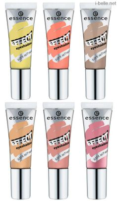 Spring 2014: Essence Eye Product Collection - Effect Eyeshadows