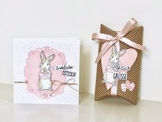 Stampin Up, Karten Diy, Easter 2021, New Baby Cards, Small Cards, Easter Crafts, Homemade Cards, Hand Lettering, Gift Tags