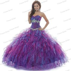 Find More Quinceanera Dresses Information about Ball Gown Sweetheart Neckline Lace Up Back Ruffle Skirt Organza Floor Length Quinceanera Gowns With Crystals Free Shipping DS02,High Quality gown wedding,China gowns for big women Suppliers, Cheap gown ball from Viman's Bridal on Aliexpress.com