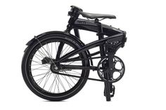 Folding bike With only two speeds, automatic shifting, and ultra-clean lines