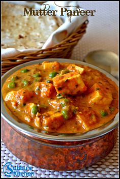 A delicious North Indian paneer recipe cooked in spicy onion tomato masala gravy with fresh green peas. This is simple and easy homemade paneer recipe that goes well with plain rice, chapattis or parathas. To check out the recipe, click the link below. Indian Paneer Recipes, Indian Food Recipes, Vegetarian Recipes, Cooking Recipes, Recipes With Paneer, Paneer Curry Recipes, North Indian Recipes, Cooking Chef, Rice Recipes