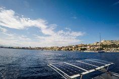 Милаццо / набережная / море / небо / лодки  #Milazzo #italia #sicily #sea #travel #sky #boat #fotoolgavolyanskaya