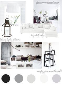 { Living room – my plans } | Stylizimo Blog