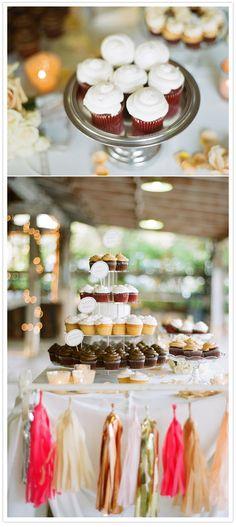 San Diego Vineyard wedding - cupcakes!