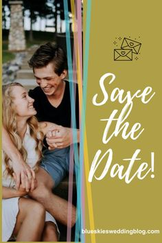 Sharing your date is not only fun but allows you to be creative and can potentially, give your guests a sneak peak into your wedding theme. Wedding Vendors, Wedding Tips, Wedding Bride, Wedding Blog, Diy Wedding, Rustic Wedding, Wedding Reception, Wedding Planning, Wedding Day