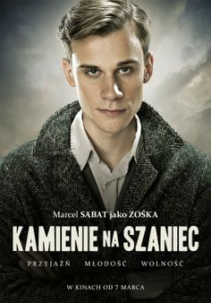 High resolution official theatrical movie poster ( of for Stones for the Rampart [aka Kamienie na szaniec]. Image dimensions: 1494 x Polish Films, World Photo, Series Movies, Great Movies, Marcel, World War Ii, Book Worms, Cinema, Books