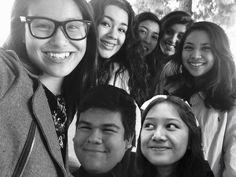 The squad took an Oscar Selfie b4 break.