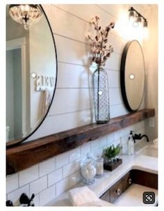 Pottery Barn Sherwin Williams Farmhouse Neutral Paint Color Guide - Do you get . Pottery Barn Sherwin Williams Farmhouse Neutral Paint Color Guide – Do you get inspired by Joann Bad Inspiration, Bathroom Inspiration, Upstairs Bathrooms, Farmhouse Bathrooms, Small Bathrooms, Country Bathrooms, Master Bathrooms, Beautiful Bathrooms, Farmhouse Vanity