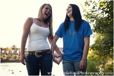 Best Friend photo shoot.  Pose ideas for teenagers.