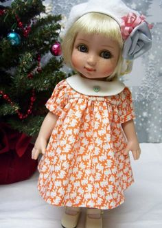 "PDF Instant Delivery Pattern for 10"" Tonner Ann Estelle , Dress, Playsuit, and 2 Hats"