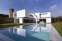 Dahl Architects + GHG Architects Created This Modern Residence In 2010 For  A Client Living In La Moraleja, Madrid, Spain.