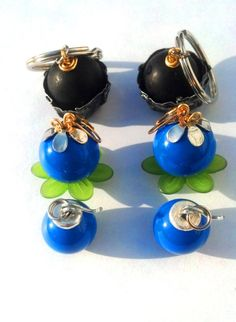 #Zelda Bomb Flower Charms ($8)