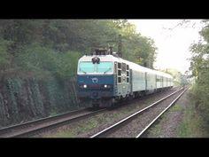 "ZSSK - Retro Gorila ""Hugo"" na EC 137 Moravia - Bratislava-Železná studienka Bratislava, Train, Retro, Youtube, Strollers, Trains, Youtube Movies, Mid Century"
