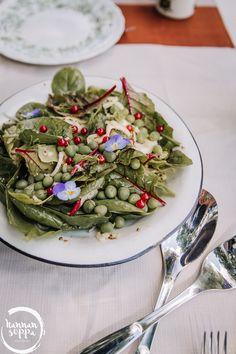 fenkoli-pinaattisalaatti / Hannan soppa