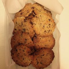 Biscotti cioccolato e menta