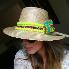 SOMBRERO WAYUU DECORADO ❤beautiful hat decorated with weave Wayuu  ♡ sombrero de paja decorado con pompones ,cintas y tejido wayuu  By @mardeamorsw ❤ #sombreroaguadeño #sombrerowayuu #sombreros #sombrerobeach #sombrerodeplaya #sombrero #sombrerodecorado #sombrerosdecorados #wayuustyle #wayuu #sandaliaswayuu #sandals #sandalias #wayuumochila #wayuubags #wayuubag #wayuubracelets #mardeamorsw