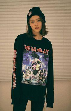 브랫슨 X 스퀘어 재팬 콜라보레이션 티셔츠 BRATSON BRATSON X SQUARE LS SHIRT