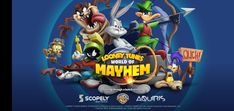 Looney Tunes World of Mayhem Looney Tunes, Pepe Le Pew, Bugs Bunny, Rpg Android, Google Drive, Gallo Claudio, Ninja, Software, The Andy Griffith Show