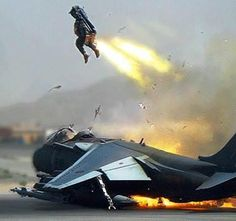 This Is the Infamous Harrier That Crashed On The Runway At Kandahar Air Base In Afghanistan In 2009 The Pilot Ejected Shortly Thereafter & The Whole Sequence Was Caught On Camera.