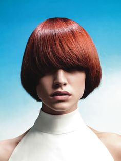 Same spicy Hot Cut but styled differently! Wedge Hairstyles, Short Hairstyles For Women, Down Hairstyles, Straight Hairstyles, Short Red Hair, Really Short Hair, Short Hair Styles, Pageboy Haircut, Let Your Hair Down