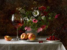 still life photography of wine | ... harmony, nice, old, peach, photo, photography, still life, vase, wine