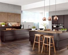 Top Kitchen Trends Prediction for Today's post is all about the the kitchen trends for Here's a look at some new kitchen trends coming in on the horizon. Nobilia Kitchen, Kitchen Tops, Kitchen Flooring, Kitchen Laminate, Kitchen Island, Kitchen Ideas, Kitchen Decor, Granite Kitchen, Kitchen Colors