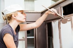The process of refinishing kitchen cabinets is long but not that complicated once you understand the basics. Here's what you need, how to do it, and what to avoid!