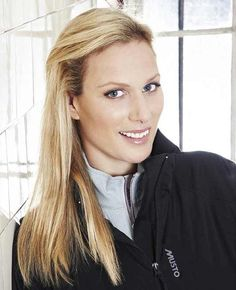 Zara Phillips, daughter of Princess Anne. Photo taken for a 2010 press release announcing Zara's sports fashion line called Musto.