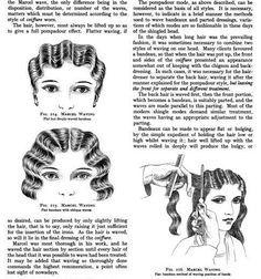 Vintage Frisur