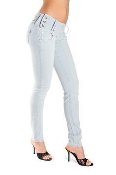 White Brazilian Jeans
