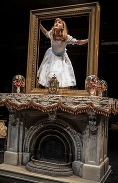 Lindsey Noel Whiting in Lookingglass Alice at Lookingglass Theatre in Chicago 2014