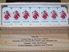 Dominoes, custom printed. Personalized. www.customprinteddominoes.com