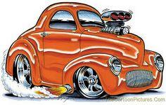Cartoon Cars and Trucks   Cartoon Car