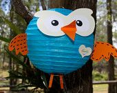 Hoot decoration from etsy