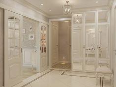 Интерьер пятикомнатной квартиры в стиле неоклассики с элементами прованса и шебби-шик, 104 кв.м.