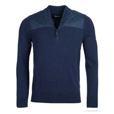 New for 2016 Barbour International Endo Half Zip Jumper - Navy Barbour Mens, Barbour International, Heritage Brands, Fashion Forward, Jumper, Zip, Suits, Navy, Sweaters