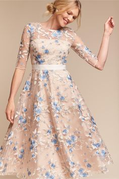 pretty + polished | Linden Dress from BHLDN