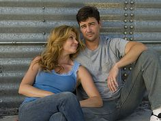 Connie Britton and Kyle Chandler from Friday Night Lights...best show on television.