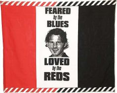 Giggs Feared by the Blues Flag